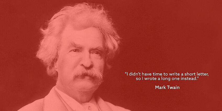 Mark Twain - Online Qual and Insight Communities